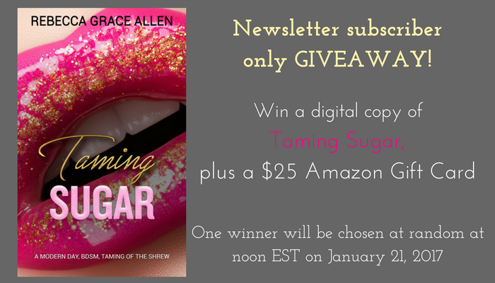 Win a digital copy of Taming Sugar