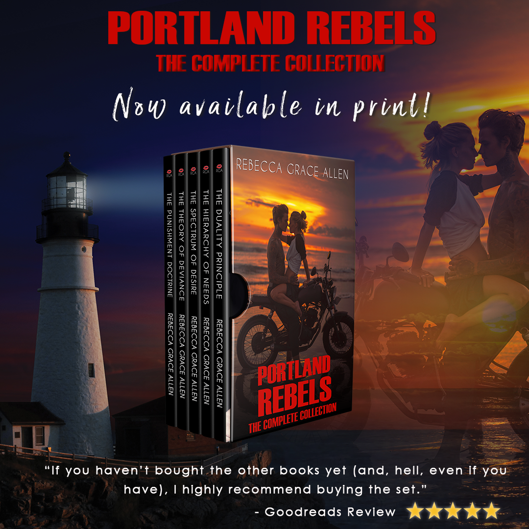 Portland Rebels: The Complete Collection in audio and print!