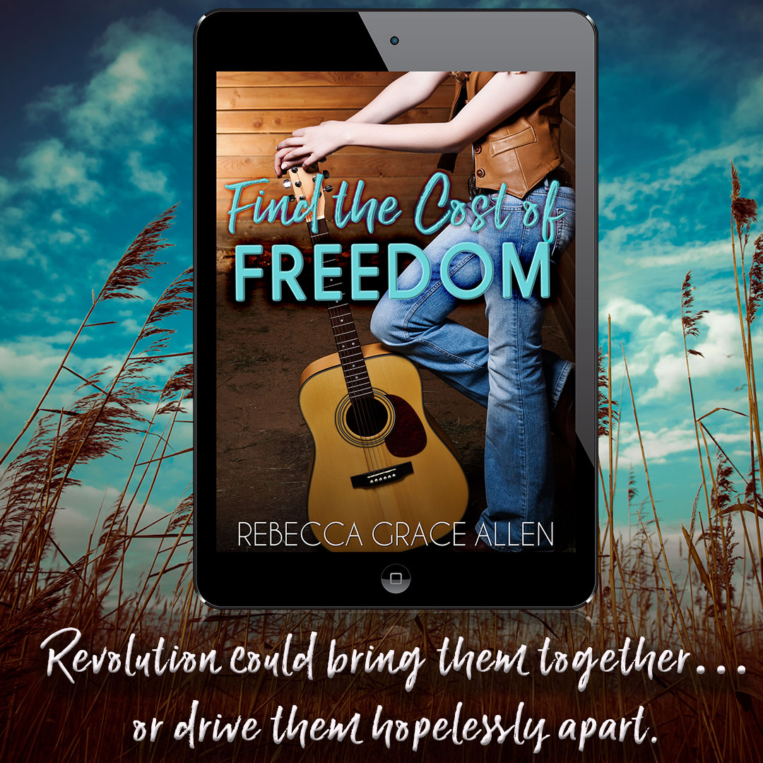 Release Day: Find the Cost of Freedom